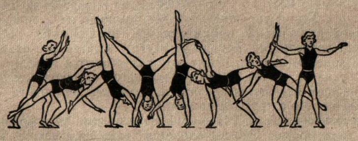 Как сделать гимнастическое колесо